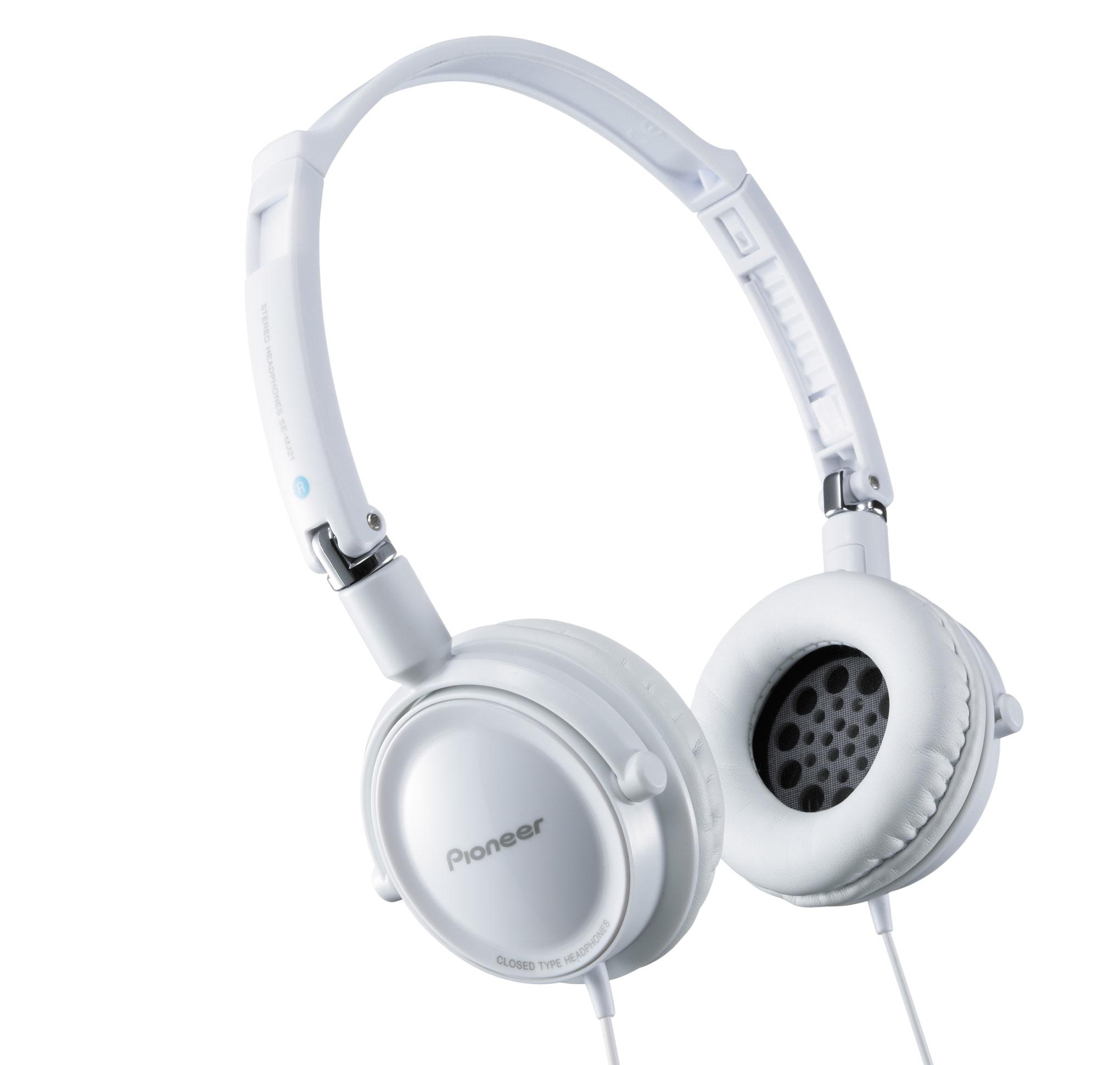 Pioneer SE-MJ21 fejhallgató. Fehér vagy fekete színű f762dfe8a4